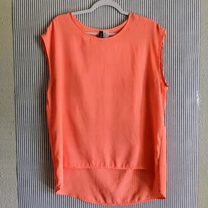Coral 'Divided' Blouse [Large]